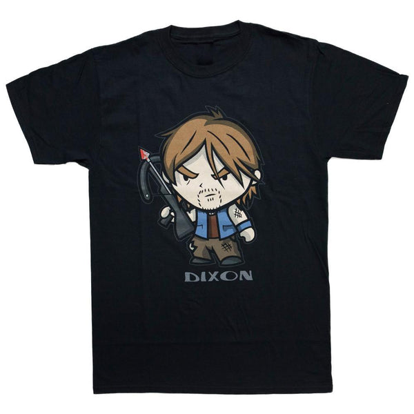 The Walking Dead Dixon Chibi Adult T-Shirt