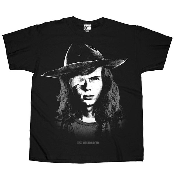 The Walking Dead Carl Grimes Black T-Shirt