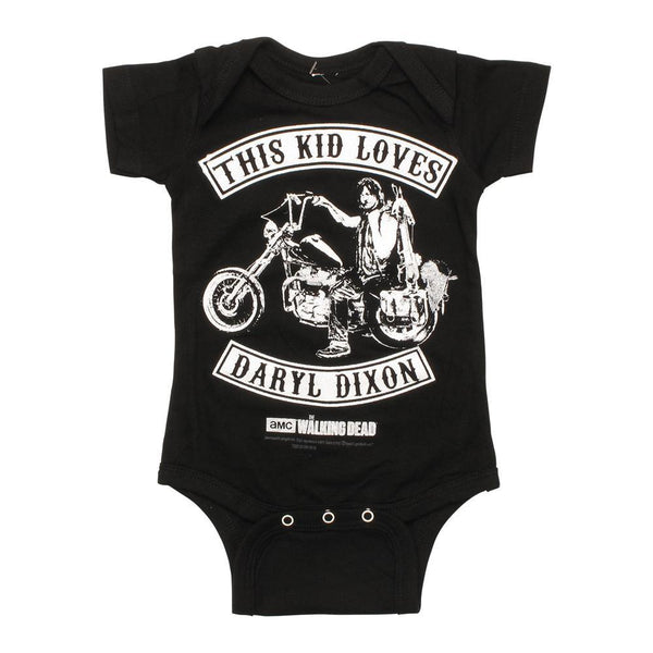 The Walking Dead This Kid Loves Daryl Infant Snap Suit