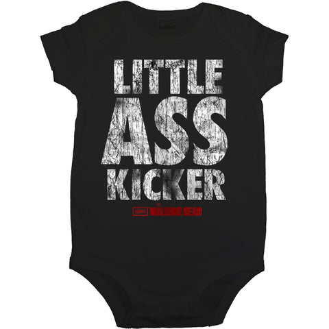 The Walking Dead Little Ass Kicker Infant Snap Suit