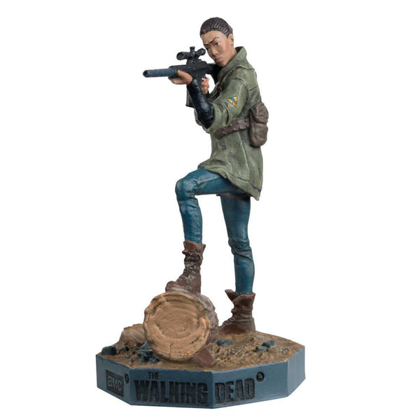 The Walking Dead Sasha Collector's Model #10 by Eaglemoss