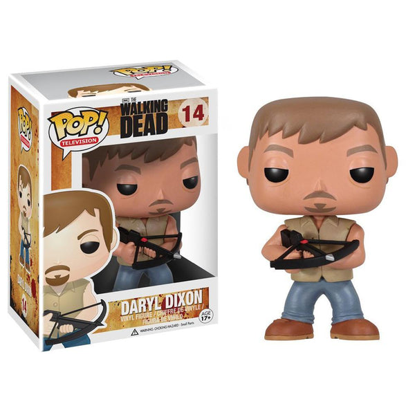 POP TV The Walking Dead Daryl Pop! Figure by Funko