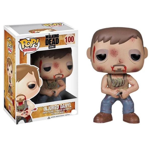 POP TV The Walking Dead Injured Daryl Pop! Figure by Funko