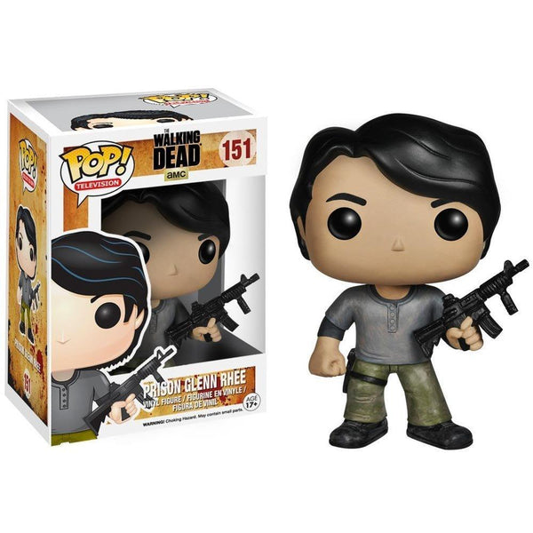 POP TV The Walking Dead Prison Glenn Pop! Figure by Funko