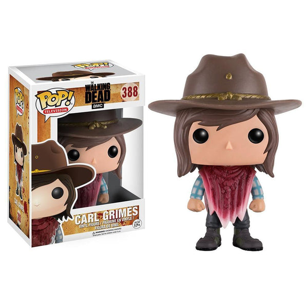 POP TV The Walking Dead Carl (BD) Pop! Figure by Funko