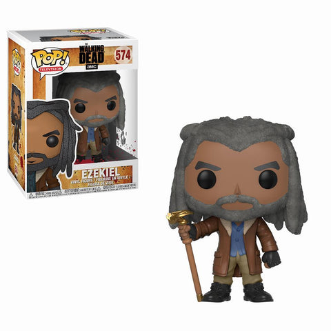 POP TV The Walking Dead Ezekiel Pop! Figure by Funko