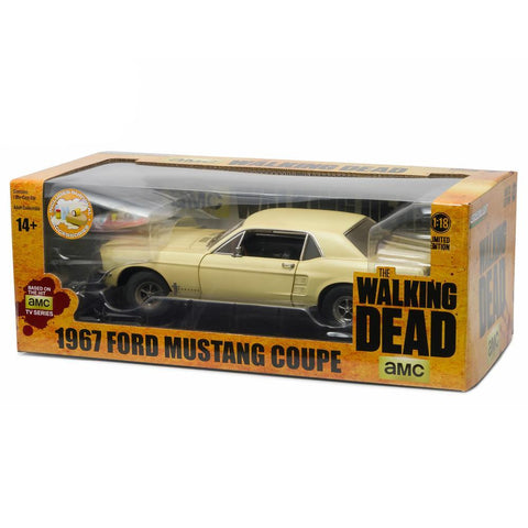 The Walking Dead 1:18 1967 Sophia Message Car Ford Mustang