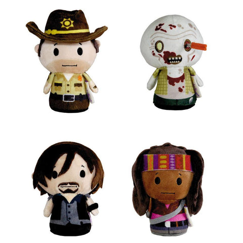 The Walking Dead Plush Mini Dolls 4-Pack