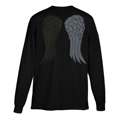 The Walking Dead Daryl Wings Long Sleeve Tee