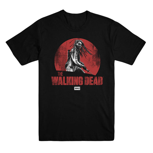 The Walking Dead Michonne Red Logo Tee