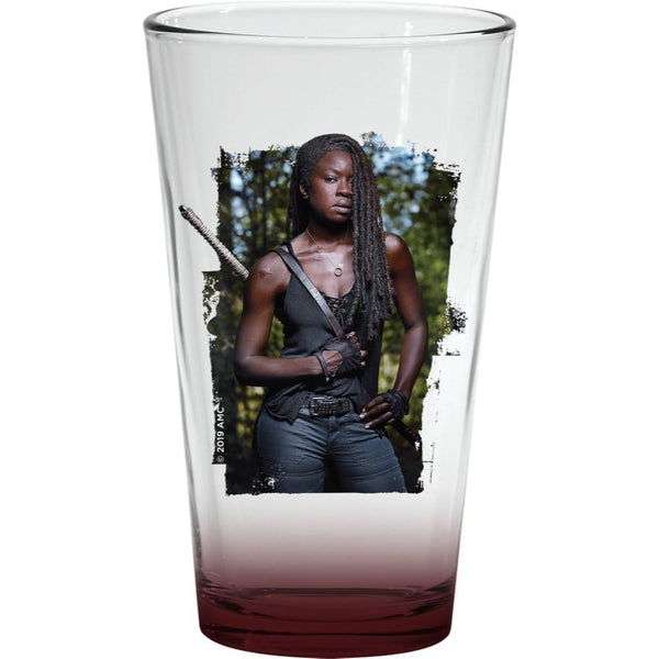 The Walking Dead Michonne Pint Glass