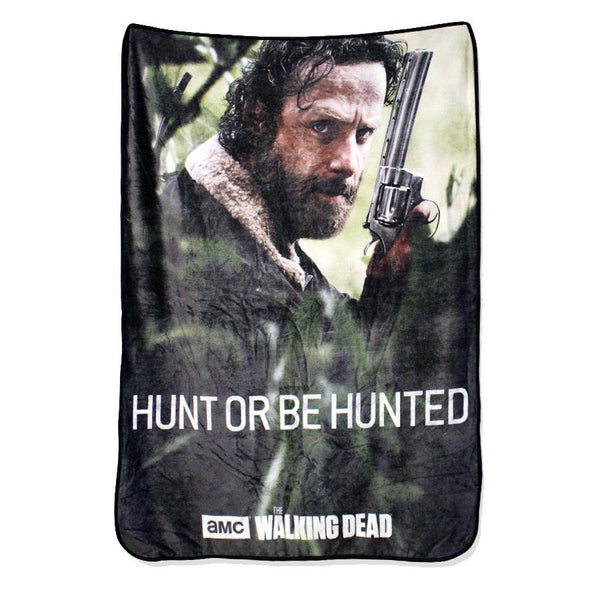 The Walking Dead Hunt Or Be Hunted Blanket