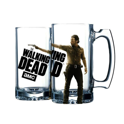 The Walking Dead Rick Beer Mug