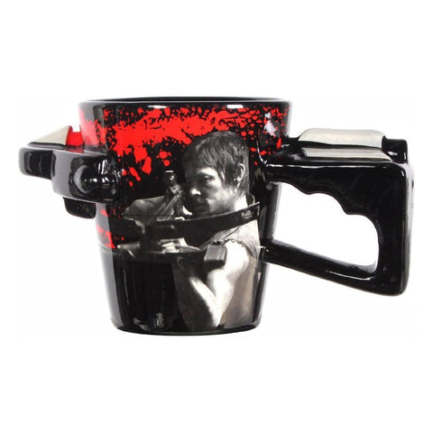 The Walking Dead 3D Crossbow Coffee Mug