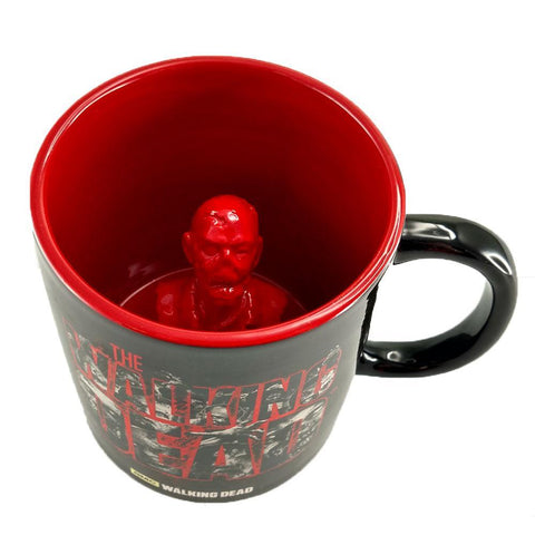 The Walking Dead Molded Zombie Mug
