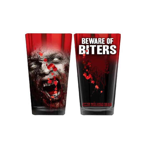 The Walking Dead Biters Pint Glass