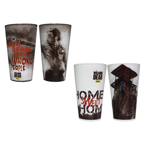 The Walking Dead Home Sweet Home/Wrong People 2-Pack Pint Set