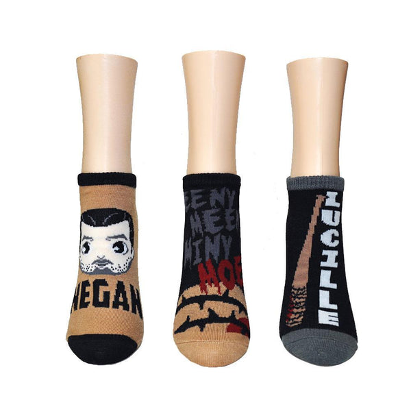 The Walking Dead Negan 3-pk Crew Socks