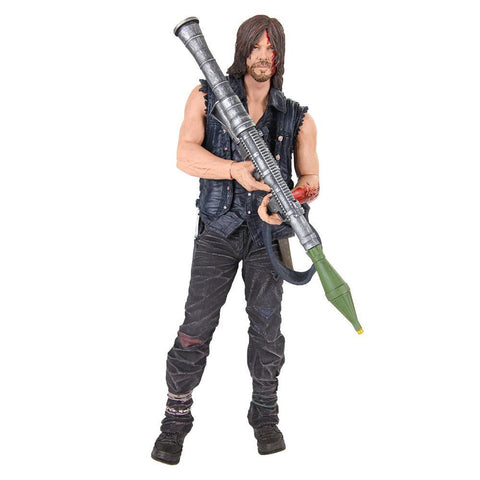 The Walking Dead Daryl Dixon with Rocket Launcher Figure by McFarlane