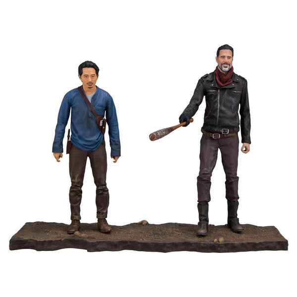 The Walking Dead Negan and Glenn Deluxe Boxed Set