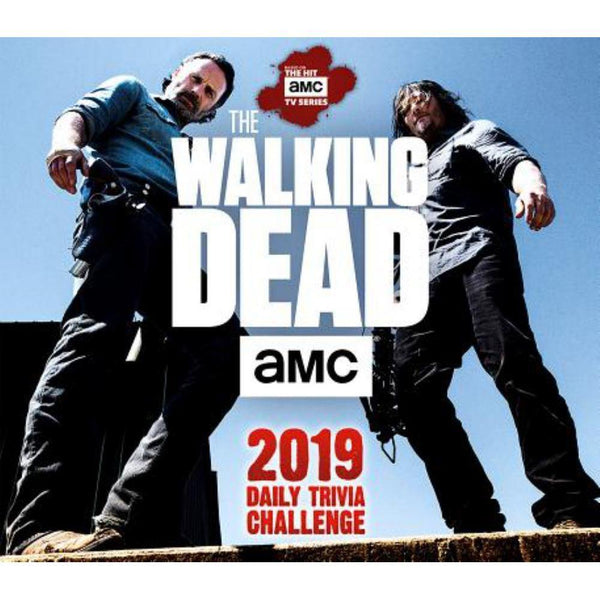 2019 AMC The Walking Dead Daily Trivia Challenge Boxed Daily Calendar