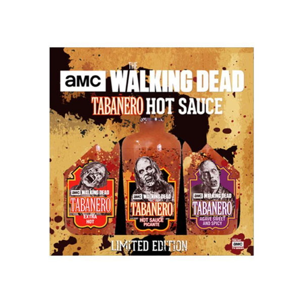 The Walking Dead Hot Sauce Tri-Pack Set
