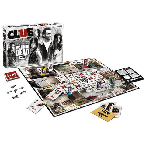 CLUE: The Walking Dead Game AMC TV Edition