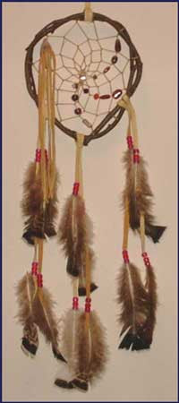 7 Inch Twig Dream Catcher