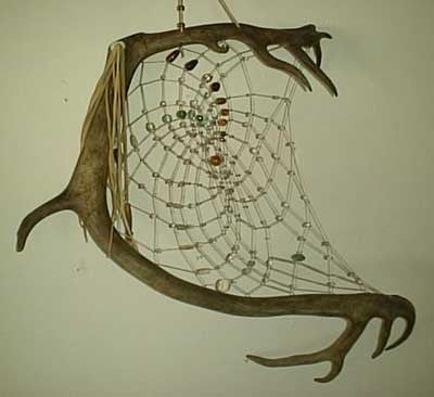 Antler Dream Catcher Extra Large 200  antlers vary