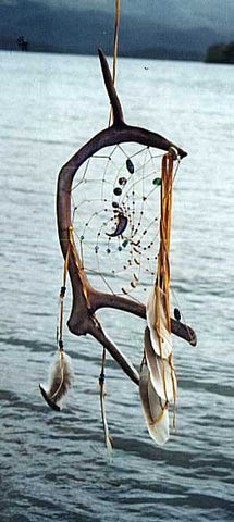 Antler Dream Catcher large 180 antlers vary