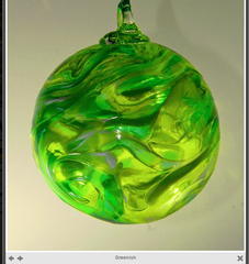 Hanging Ornament Greenish