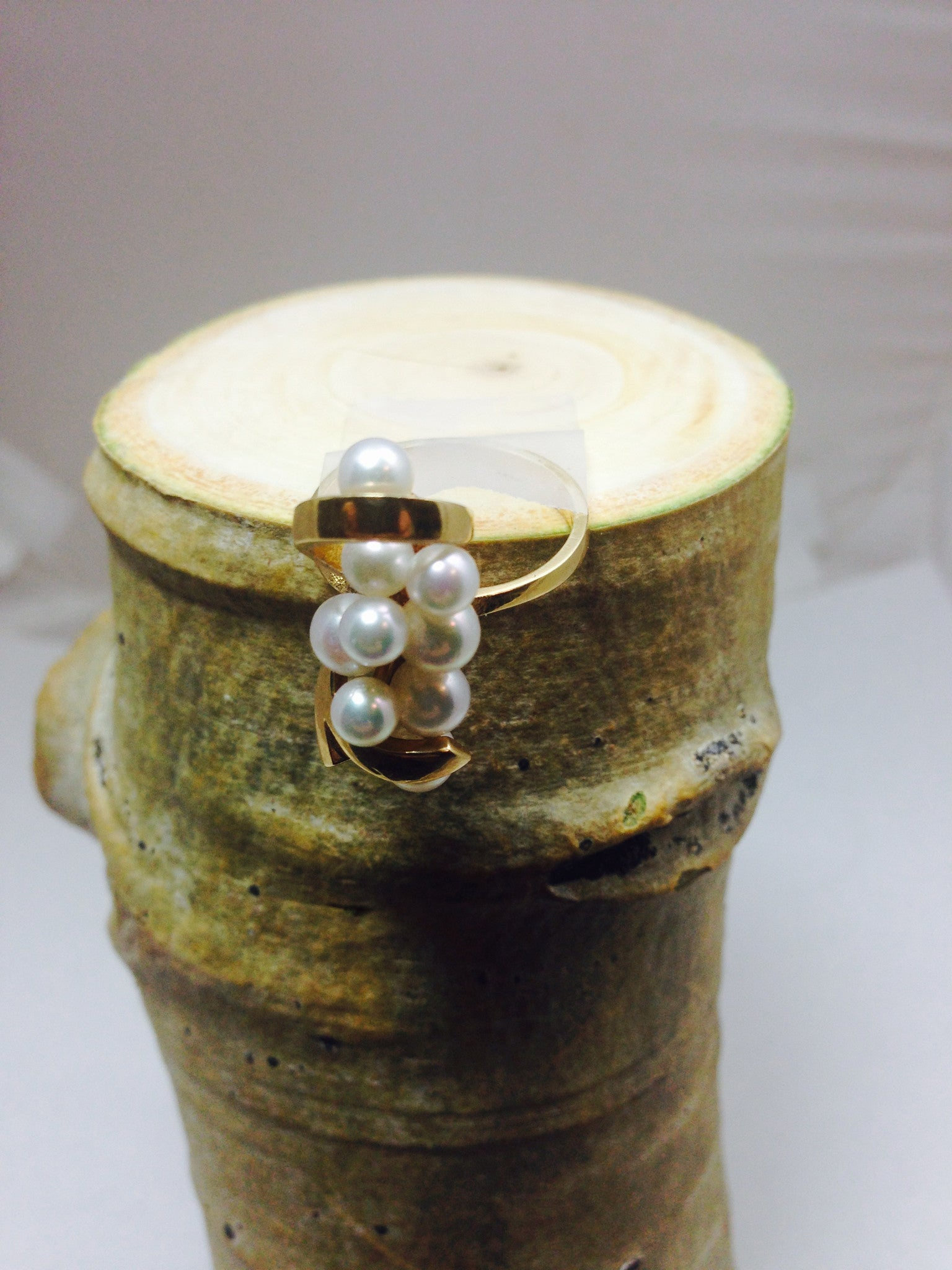 Multi  Pearl Fresh Water Ring