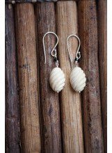 Twist Mammoth Ivory Earrings