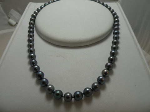 Black Cultured Pearls
