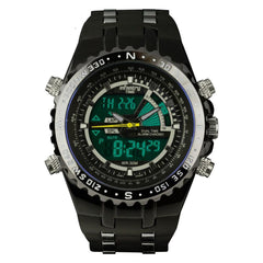 INFANTRY Mens Military Police Watches LCD Digital