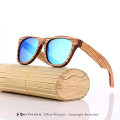 Bamboo Sunglasses Men Wooden Sun glasses Women Brand Designer Mirror Original Wood Sunglasses Oculos de sol masculino