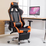 Fashion playing chair WCG chair computer gaming athletics chair with aluminum alloy legs