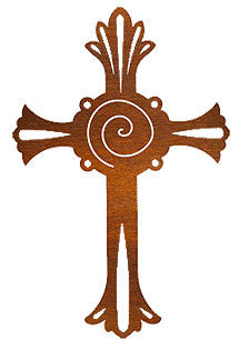 18 inch Serenity Cross By Robert Shields