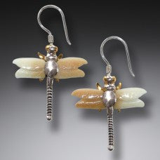 dragonflies earings