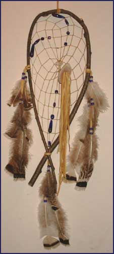 Snow Shoe Dream Catcher Twig XL
