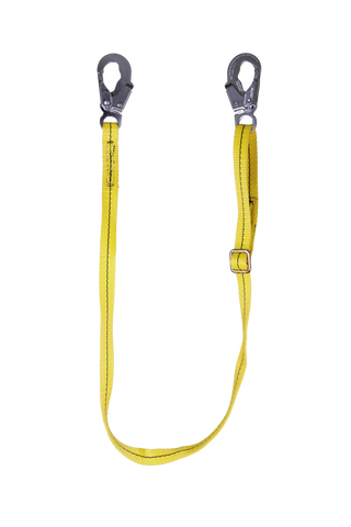 Non-Shock Adjustable Lanyard
