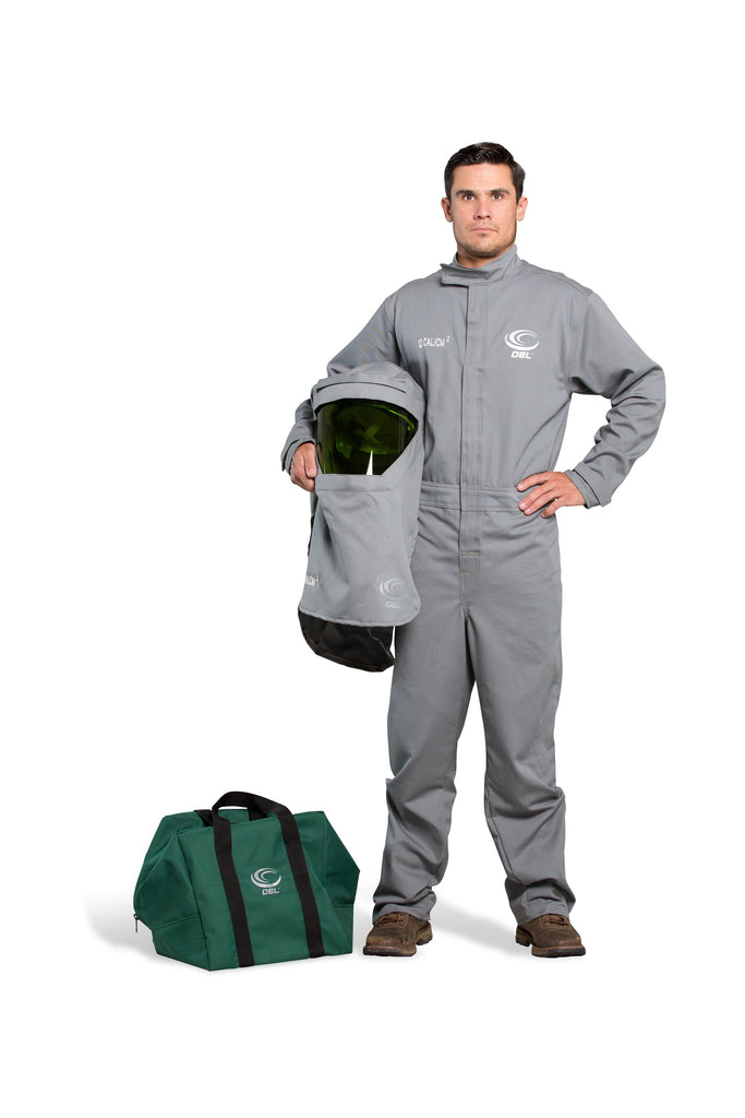 AFW12SH-PFC - 12 Cal FR Shield Coverall Kit with Switch Gear Hood
