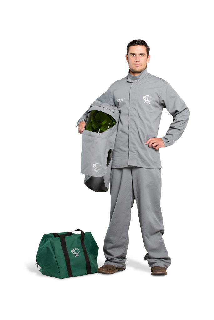 AFW12SH-PJB - 12 Cal FR Shield  Jacket and Bib Overalls Kit