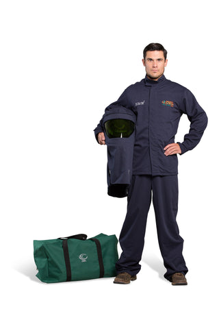 AFW25-JB - 25 Cal FR Shield Jacket and Bib Overalls Kit