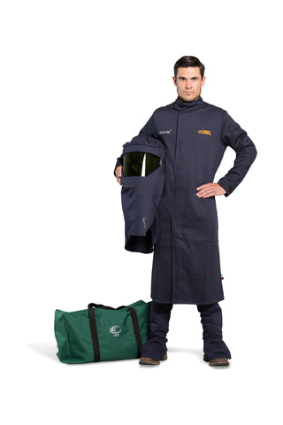 AFW25-C - 25 Cal FR Shield Lab Coat Kit