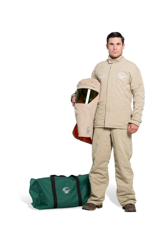 AFW40-PJB - 40 Cal FR Shield Jacket and Bib Overalls Kit