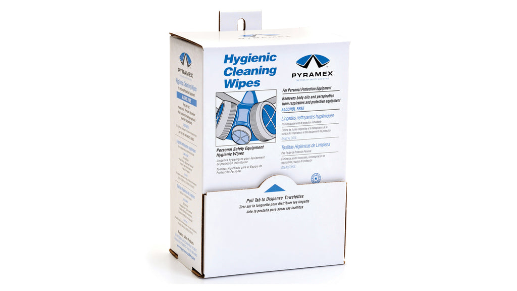 HCW100 - 100 individually packaged alcohol free hygienic wipes