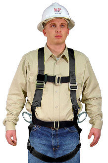 530B-HOT - Welding Positioning Full Body Harness with hip D rings with Kevlar Webbing