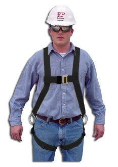 631B-HOT - Lightweight Full Body Harness with Kevlar Webbing