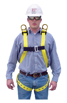 651D - Lightweight Full Body Harness
